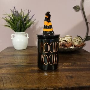 Rae Dunn Hocus Pocus Candle with Topper